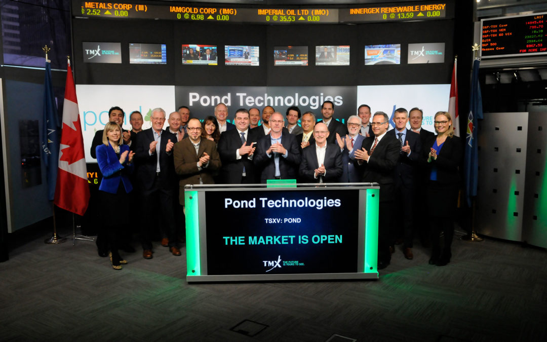 Pond Technologies Holdings Inc. Announces Closing of Reverse Takeover and Completion of $8.7 Million Related Equity Financings