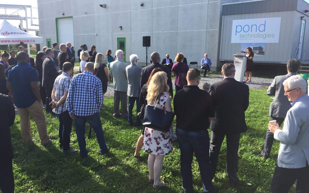 Ground Breaking Ceremony for the Markham Nutraceutical Plant